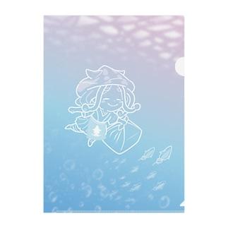 ホタルイカのルイちゃん Clear File Folder