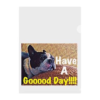 Have a Gooood day!! Clear File Folder