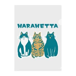 HARAHETTA Clear File Folder