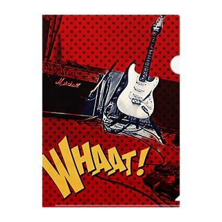 Marubeck Guitar Clear File Folder