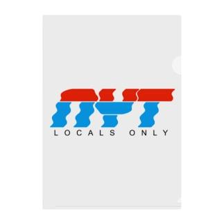 LOCAL Clear File Folder