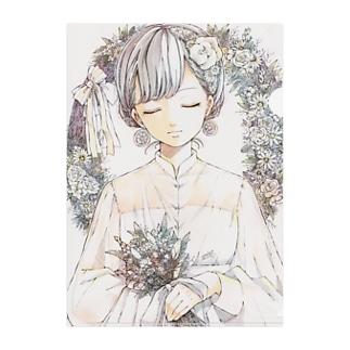 🍃とあるお茶🍵のヴィンテージちゃん Clear File Folder