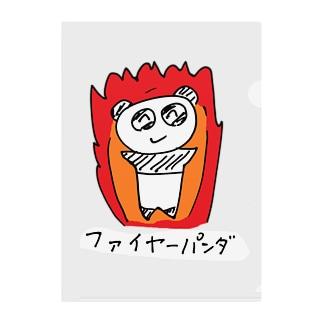 ファイヤーパンダ Clear File Folder