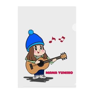 MAMA YUMIKO Clear File Folder