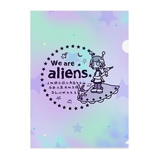 我々は宇宙人だ Clear File Folder
