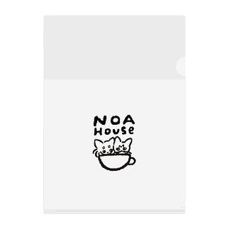 NOAHOUSE Clear File Folder