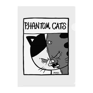 猫又スプリット Clear File Folder