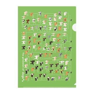 pdの犬の系統図 Clear File Folder