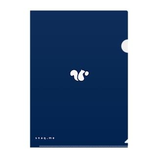 クリアファイル(ロゴ) Clear File Folder