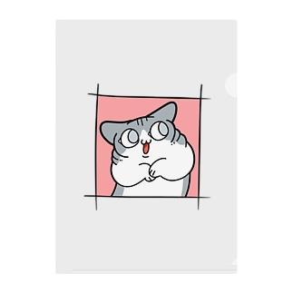 銀ちゃん Clear File Folder