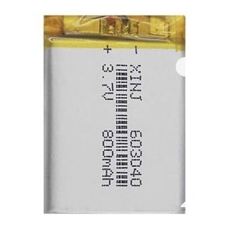 膨らんだバッテリーセル Clear File Folder