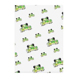 カエルの集い🐸 Clear File Folder