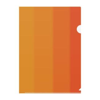 夕焼け Clear File Folder