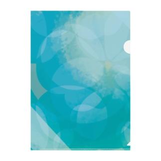flower Clear File Folder