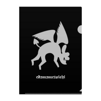 edamametoichi ハロウィン 1 Clear File Folder