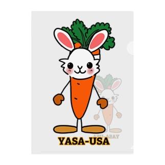 YASA-USAのやさうさ Clear File Folder