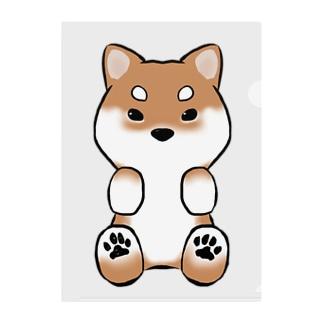 柴犬 Clear File Folder