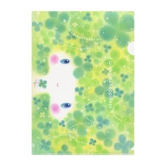 クローバー姫 Clear File Folder