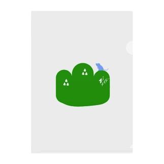 無い家紋-大山鳴動して鼠一匹- Clear File Folder