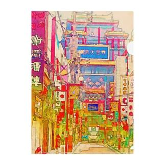 中華街 Clear File Folder
