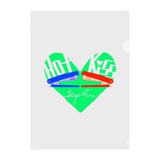 Hot Kiss~ホッチキス~ Clear File Folder