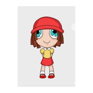 赤頭巾ちゃん Clear File Folder
