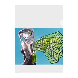 アタシは飛べるちゃん Clear File Folder