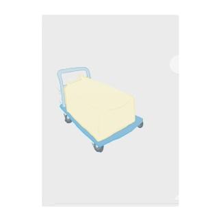 追う豆腐(単体) Clear File Folder