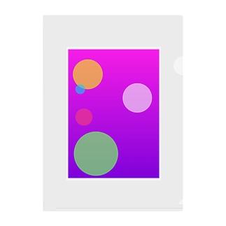 グラフィックデザイン032 Clear File Folder