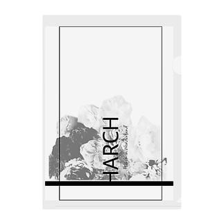 Harch Clear File Folder