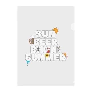 夏のごきげん Clear File Folder