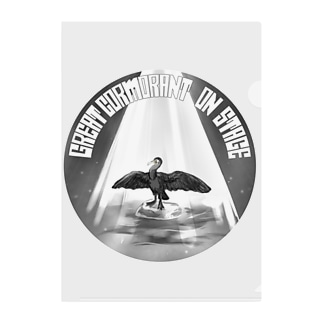 カワウ on stage Clear File Folder