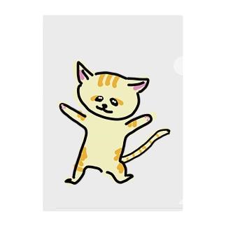 踊るスナネコ Clear File Folder