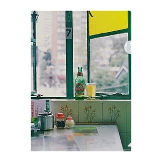 【We♥︎︎香港】 餐室の窓辺 Clear File Folder