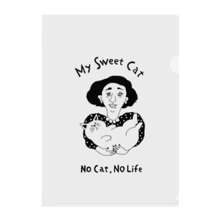 No cat,no life Clear File Folder
