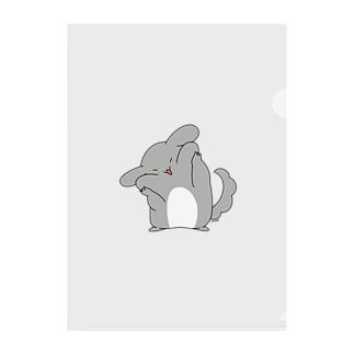 ゆるチラ(ほっぺ) Clear File Folder