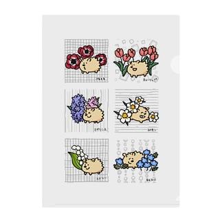 春の花 Clear File Folder