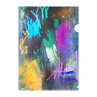 紫の夫人が大根を呼んでる Clear File Folder