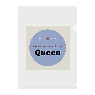 Queen(クイーン) Clear File Folder