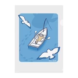 ナマケボート Clear File Folder
