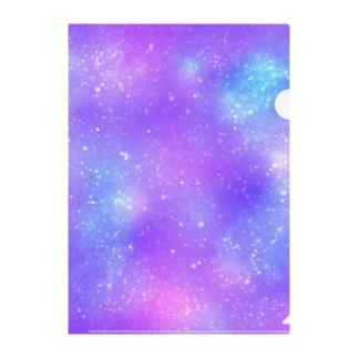 宇宙3 Clear File Folder