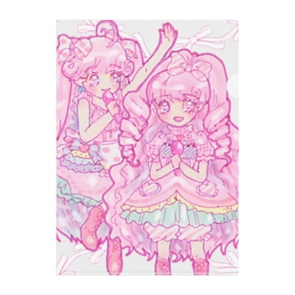 ☆sweet pinkys☆クリアファイル Clear File Folder