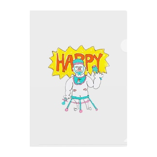 HAPPY LIFE HAPPY HOME BABY HOME Clear File Folder