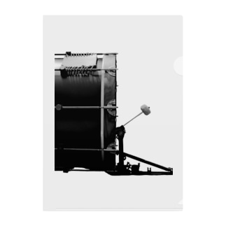 HIBIKI SATO Official Arts.の「DRUMS!!」#9 Clear File Folder