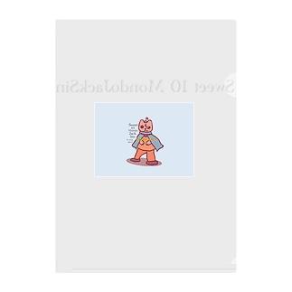 Sweet 10 MondoJackSin -MondoJack- Clear File Folder