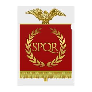 ローマ帝国 Clear File Folder