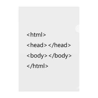 HTML基本タグ Clear File Folder