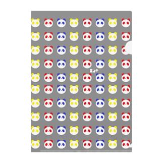 PANDADARAKE Clear File Folder