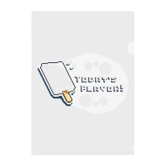 自分で作るアイスキャンディ Clear File Folder