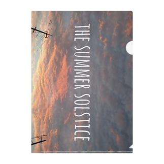 THE SUMMER SOLSTICE Clear File Folder